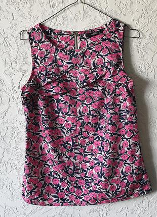 Блуза с цветочным принтом oasis