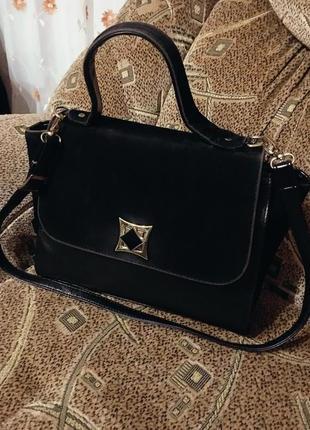 Актуальная стильная сумка портфель