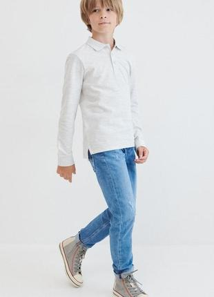 Лонгслив, футболка поло для мальчика с длинным рукавом. весна 2021