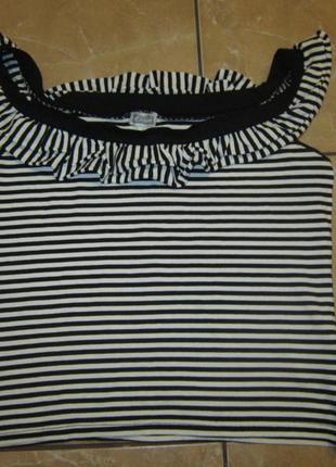 Літня футболка в полоску / знижки+подарунки