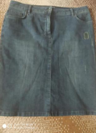 Юбка джинсовая ,
