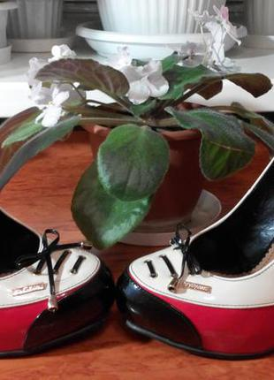 Кожанные туфли stella marco