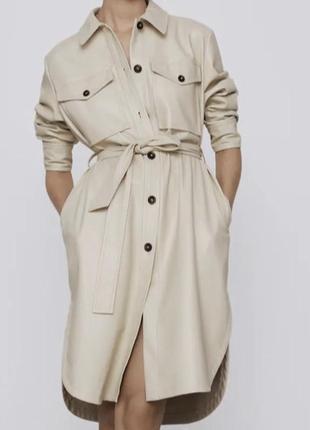 Пальто -платье 2в1 zara