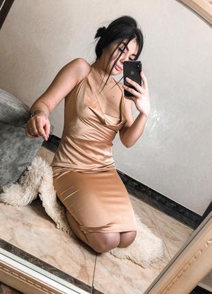 Атласне плаття oh polly
