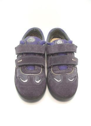 Детские замшевые туфли кроссовки primigi р. 32-33