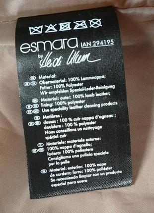 Кожаная женская куртка-косуха edmara by heidi klum 42 eur3 фото
