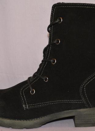 """Р39 """"pier one"""",германия,натуральная кожа! еврозима!комфортные ботинки полусапоги"""