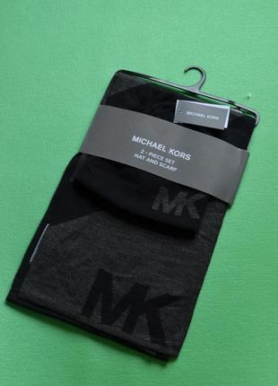 Michael kors набор шарф и шапка, новый, оригинал
