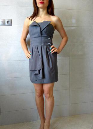 Платье tago открытые плечи