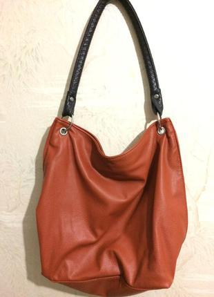 Рыжая сумка oriflame