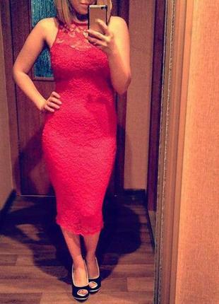 Платье миди atmosphere