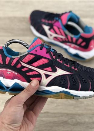 Mizuno wave tornado x волейбольні спортивні кросівки оригінал (гандбольні, тенісні)