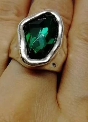 Акция 1+1=3 винтажное кольцо 17 размер перстень