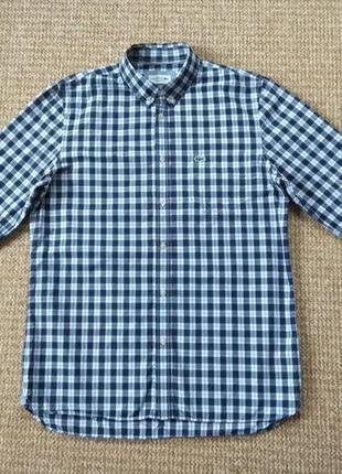 Lacoste рубашка оригинал (m-l)