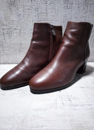 Ботинки женские geox, кожа, 36-37 р-р.