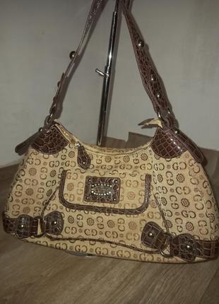 Стильная женская сумка на плечо gussaci