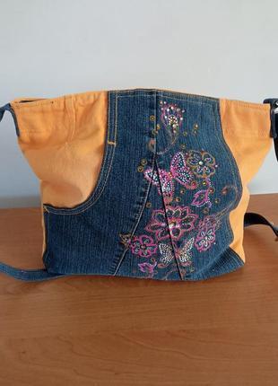 Супер гарна сумка для літа