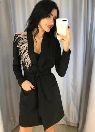 Оригинальное платье пиджак