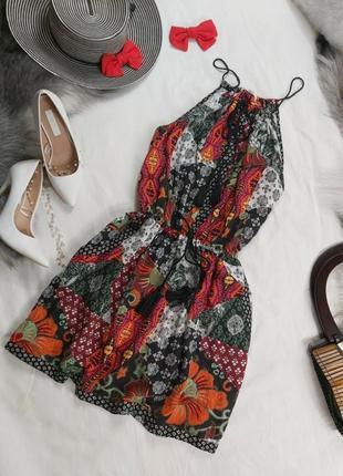Очень красивое лёгкое летнее платье