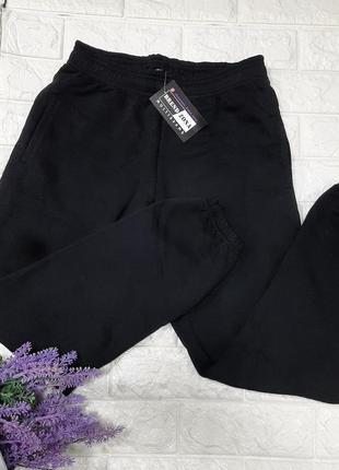 Женские спортивные штаны жогеры на резинке