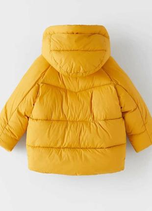 Яркая куртка zara