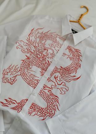 Женская дизайнерская рубашка