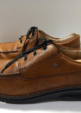 Комфортные фирменные туфли из натуральной кожи finn comfort germany 45-46