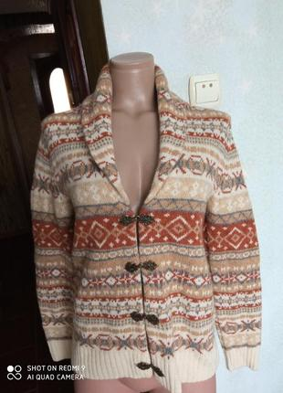 Кардиган шерстяной в скандинавском стиле telluride clothing co.