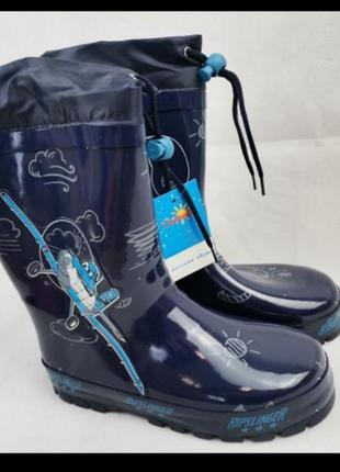 Резиновые сапоги для мальчика резиновые сапожки ботинки
