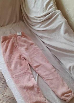Пушистые штаны мягкие штаны