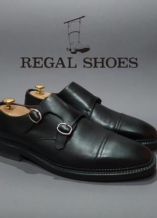 Туфли двойные монки regal 42р.