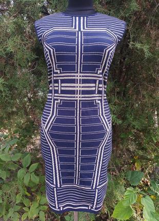Платье роскошное topshop по фигуре с люрексом
