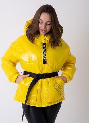 Куртка весенняя женская под пояс, весна 2021. от производителя.