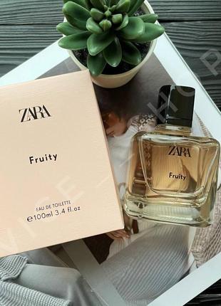 Zara fruity  100 духи парфюмерия туалетная вода оригинал испания купить