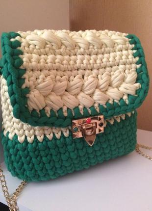 Яркая летняя сумка с эксклюзивным замком
