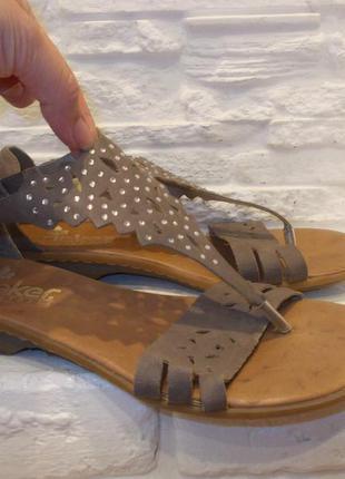 Босоножки сандалии rieker р.40 стелька 26 см