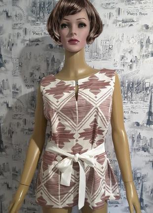 Блуза з коротким рукавом  s.oliver , uk 14, наш 48