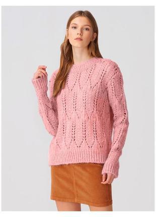Рожевий світер, розовый свитер dilvin