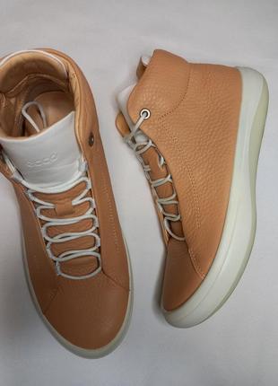 Кеды высокие сникерсы ботинки ecco 431013 kinhin оригинал zw5699