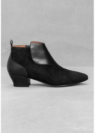 Кожаные ботинки от other stories