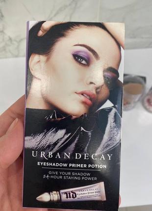 Urban dacay пробник eyeshadow primer potion