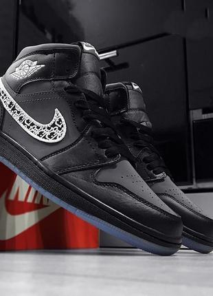 Мужские кроссовки nike air jordan 1 retro(42-45р)  наложенный платеж