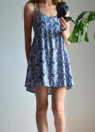 Платье с открытой спинкой на завязках h&m