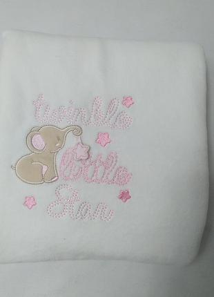 Подврочное плюшевое одеялко для девочки ovs