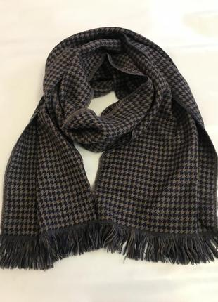 Battistoni теплый шарф 100% шерсть