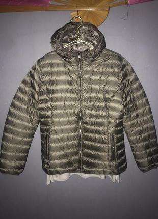 С бирками облегченная куртку пуховик на весну 2xl gina benotti