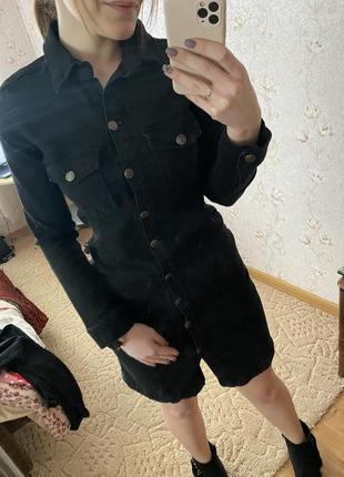 Трендовое джинсовое платье reserved 38
