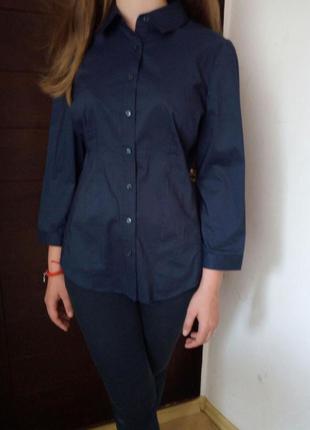 Темно-синяя рубашка от new york&company