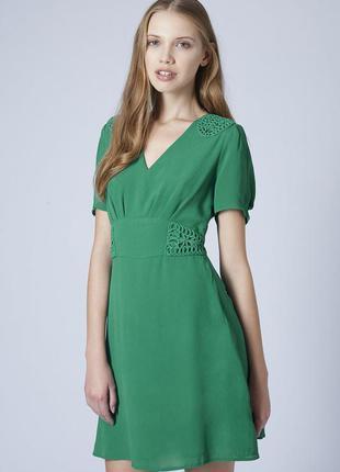 Красивое шифоновое платье topshop 36