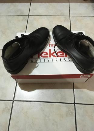 Rieker зимние мужские туфли (ботинки)